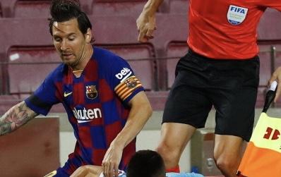 تفاصيل جديدة عن مصير ميسي مع برشلونة