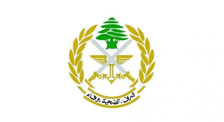 الجيش: نقوم برشّ مبيدات حشرية في منطقة اللبوة في اطار اجراءات مكافحة اسراب الجراد
