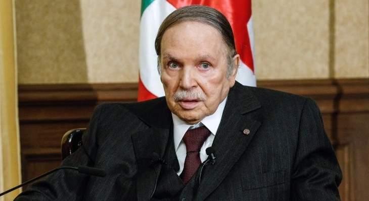الرئاسة الجزائرية: بوتفليقة سيستقيل قبل نهاية عهدته في 28 الشهر الحالي