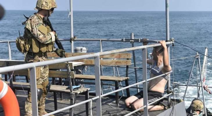 زورقان اسرائيليان خرقا المياه الإقليمية اللبنانية مقابل رأس الناقورة على مرحلتين