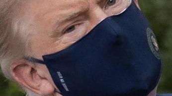 ترامب حضر للمكتب البيضاوي بالبيت الأبيض بعد خروجه من المستشفى لتلقي العلاج من الكورونا
