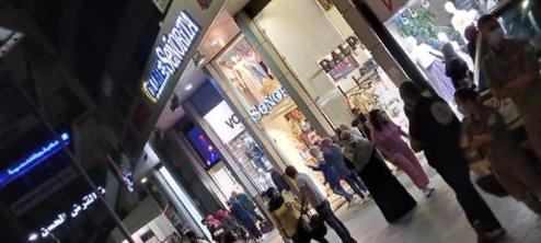 الكشاف العربي ينفذ حملة سلامة عامة في السوق التجاري لمدينة صيدا