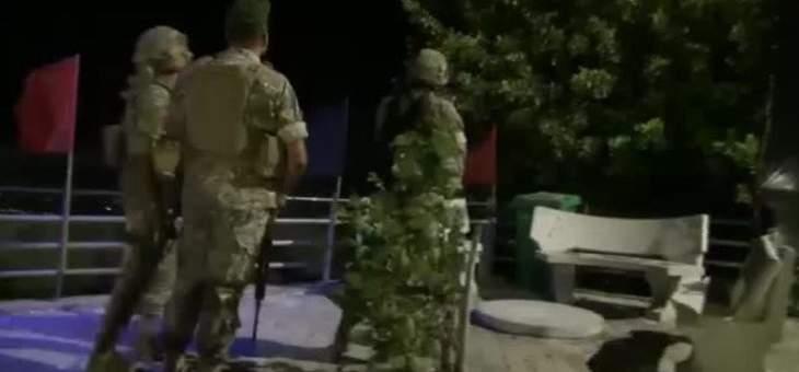 النشرة: إجراءات أمنية مشددة يتخذها الجيش اللبناني في مناطق البقاع