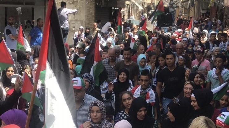 بيان صادر عن شباب مخيم عين الحلوة حول قرار وزير العمل بحق العمال الفلسطينيين