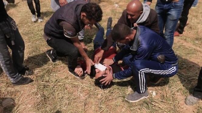 الاحتلال يحقق مع نفسه في استشهاد فلسطينيين على حدود غزة