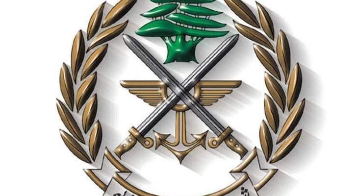 الجيش: توقيف أشخاص لارتكابهم جرائم مختلفة