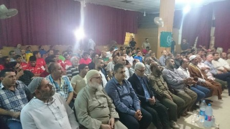 لقاء تضامني لحركة حماس في عين الحلوة بذكرى النكبة وتضامناًمع الأسرى