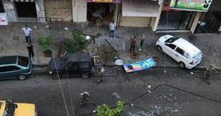 جريحان بانفجار قارورة غاز في محل للمعجنات في شارع نتاشا سعد بصيدا