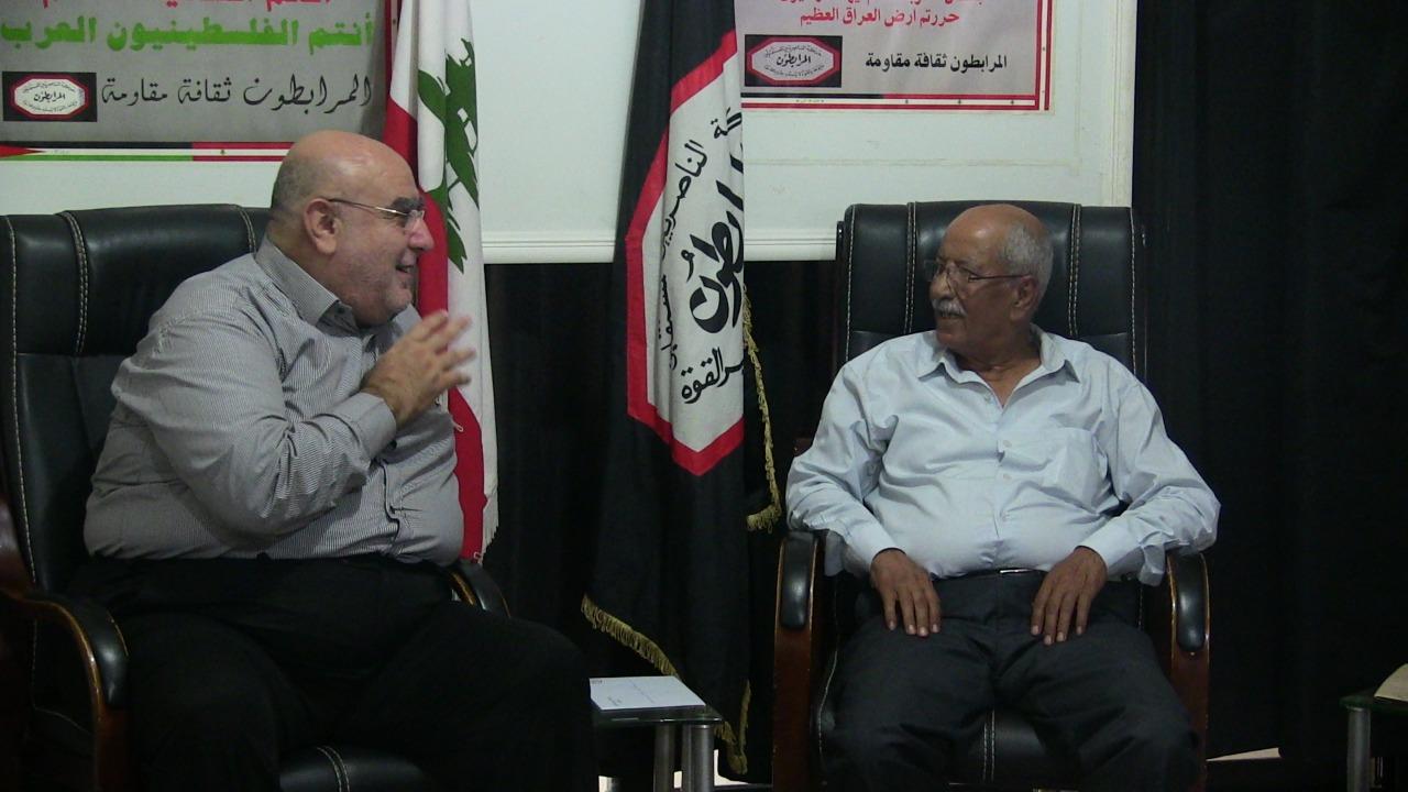 لقاء بين المرابطون والتنظيم الشعبي الناصري