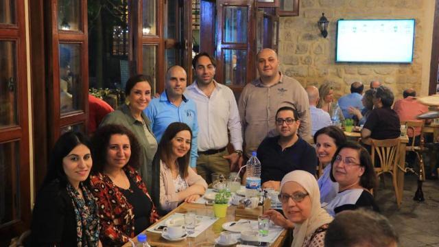 سحور رمضاني للمكتب التربوي في التنظيم الشعبي الناصري