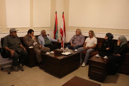 أسامة سعد يستقبل لجنة أهالي المحكومين في أحداث عبرا