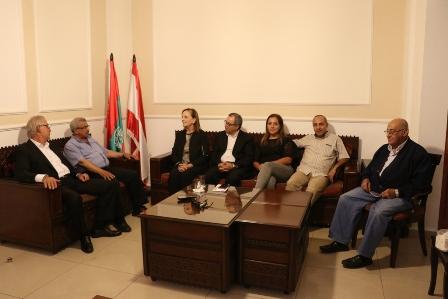 أسامة سعد استقبل وفدا من المجلس الأهلي لمكافحة الإدمان