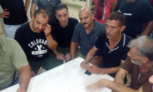بالصور : تظاهرة لأهالي مخيم شاتيلا ضد الفساد داخل المخيم