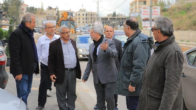 بالفيديو والصور.. أسامة سعد  جال على شوارع مدينة صيدا منتقداً تكرار عمليات الحفر وعدم إنجاز مشاريع البنية التحية بشكل كامل