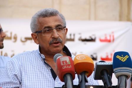 بالفيديو: كلمة الدكتور أسامة سعد ترحيبا بوفد التضامن الكوبي مع الشعبين اللبناني و الفلسطيني.
