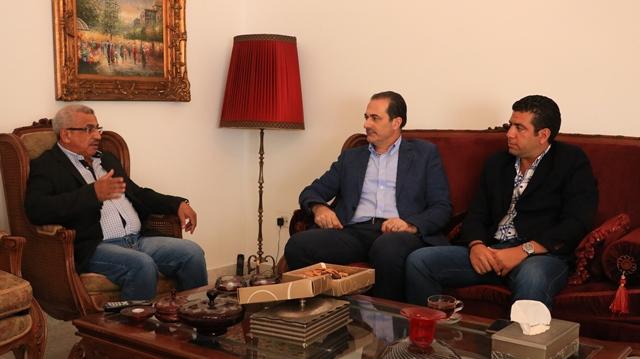 بالصور... أسامة سعد يلتقي المدير الإقليمي لأمن الدولة العميد نواف الحسن