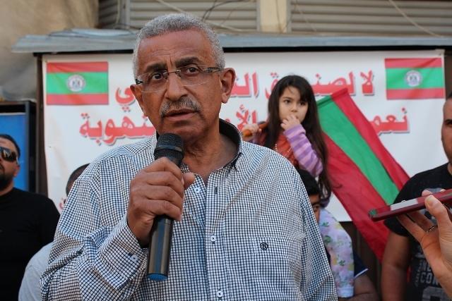 أسامة سعد يطالب السلطة في اعتصام حي نزلة صيدون في مدينة صيدا: عالجوا انهيار الليرة وانفلات الأسعار الجنوني تداركا لتفاقم الانفجار الاجتماعي