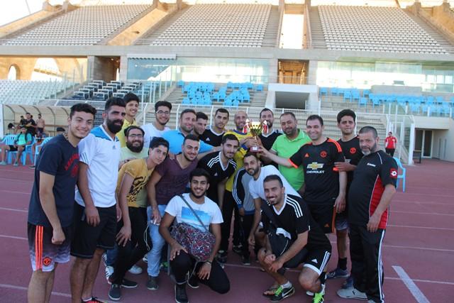 بالصور... مبارة ودية في الفوتبول بين نادي شباب البلد وفريق كفرصير جاءت نتيجتها تعادل1-1 للفريقين