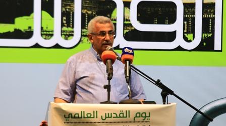 بالفيديو: كلمة الدكتور اسامة سعد خلال احتفال يوم القدس العالمي