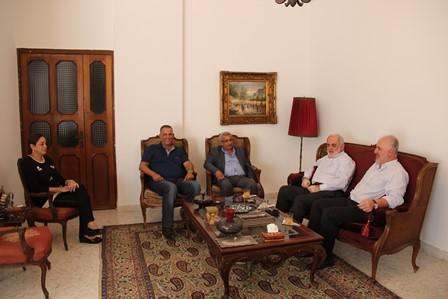 بالصور... أسامة سعد يستقبل أبو زيد وعزيز