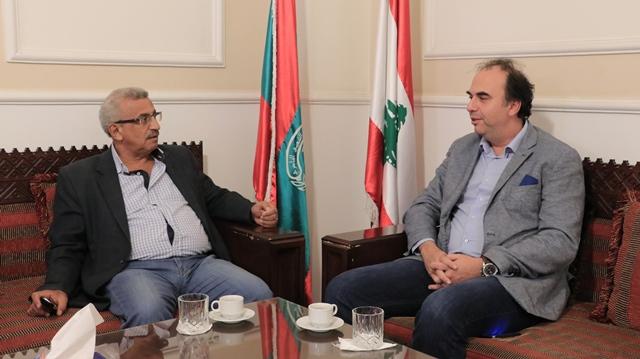 أسامة سعد يبحث مع مدير عام مؤسسة مياه الجنوب في تحسين مستوى تأمين المياه لمدينة صيدا وضواحيها