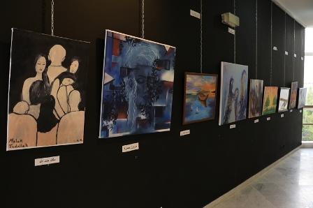 بالصور... افتتاح معرض شموع السلام 3 في مركز معروف سعد