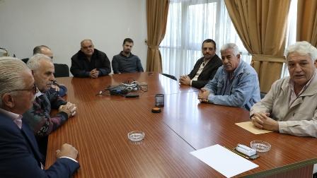 الهيئة الشعبية لمواجهة أزمات المياه والكهرباء  في صيدا تجتمع بمدير مؤسسة مياه لبنان الجنوبي وتقدم له سلة مطالب