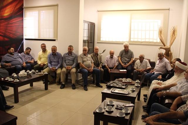 اللقاء السياسي اللبناني الفلسطيني يعقد اجتماعه الدوري برئاسة أسامة سعد