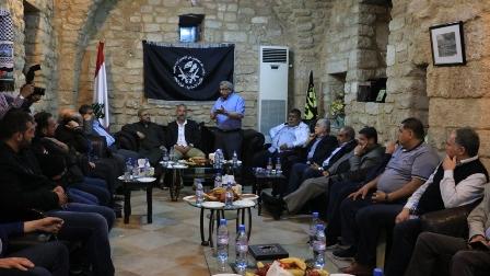 أسامة سعد يلتقي قوات الفجر ويتناول الملفات الوطنية والقضايا الصيداوية