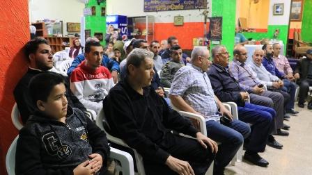أسامة سعد خلال لقاء مع  عائلة اليمن يشدد على المشاركة في الانتخاب  ومحاسبة المسؤولين عن تردي أوضاع الناس