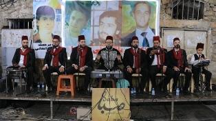 بالفيديو والصور: ألحان صوفية وتراثية لفرقة الدراويش الشاميّة في صيدا القديمة