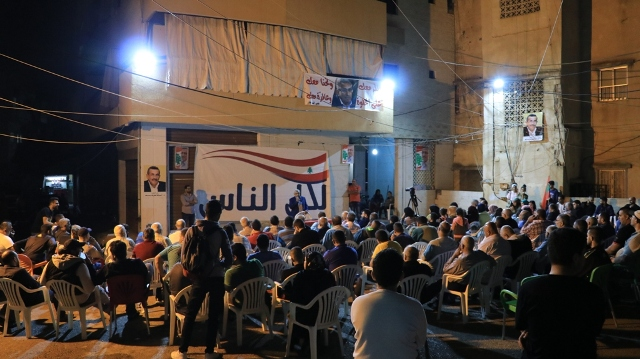 أسامة سعد خلال لقائه بعائلة البيطار: يريدون التفرد من أجل التسلط، ونريد التنوع من أجل التطور