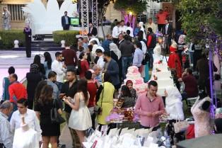 بالفيديو والصور: افتتاح معرض الافراح في بلدة مغدوشة