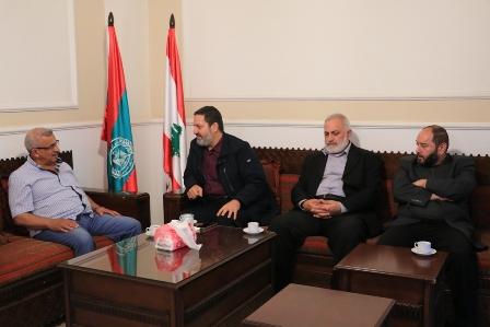أسامة سعد يبحث مع أمين عام حركة التوحيد الاسلامي المستجدات على الساحتين اللبنانية والعربية