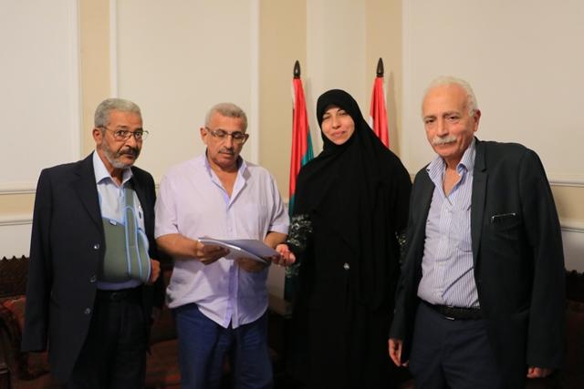 أسامة سعد يتلقى من جمعية