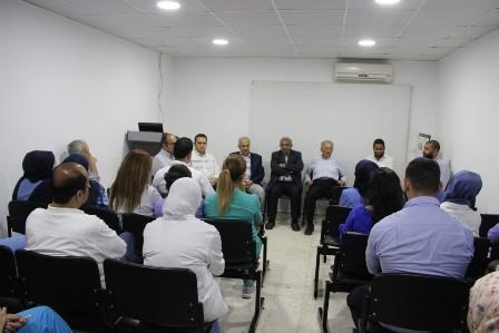 أسامة سعد يجول على مستشفيات صيدا ويلتقي الأطباء والموظفين والعاملين فيها  مؤكداً على أهمية أن يكون المجتمع شريكاً فاعلاً في الشأن العام ينتقد ويحاسب