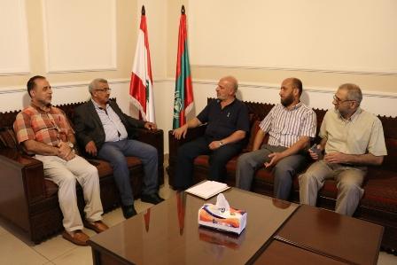 أسامة سعد يستقبل وفدا من حزب التحرير
