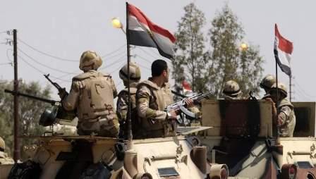 الجيش المصري: مقتل 5 مسلحين جراء تدمير مخبأ لهم وسط سيناء