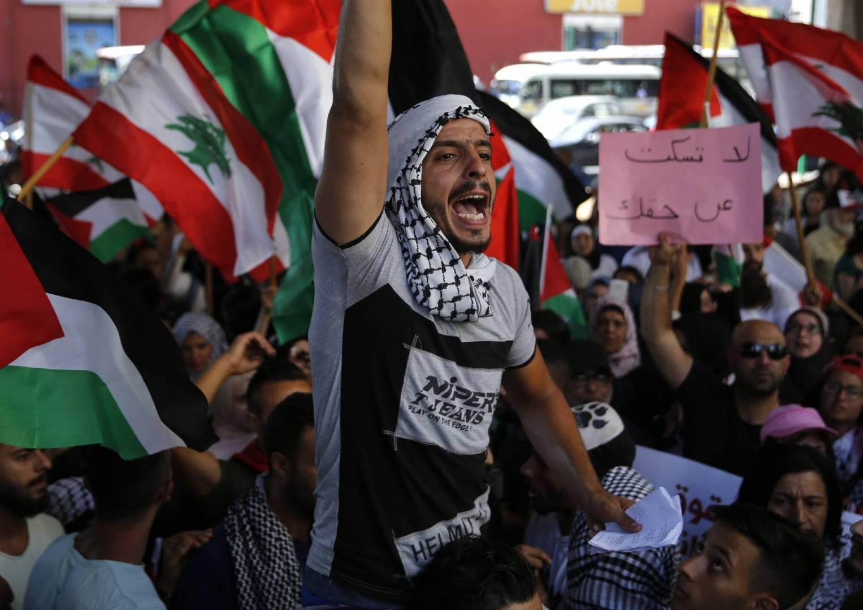 اعطاء الفلسطينيين حقوقهم الانسانية والاجتماعية لا تعني التوطين