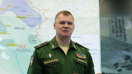 الدفاع الروسية: طائرات سورية قصفت مستودعا للإرهابيين في خان شيخون