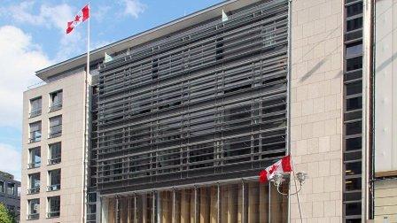 تهديد بوجود قنبلة في سفارة كندا ببرلين