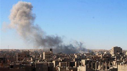 مقتل 12 مدنياً بغارات على بلدة السوسة شرقي سوريا