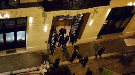 سطو مسلح على فندق ريتز باريس