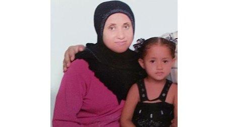 بالصورة - امرأة مفقودة مع طفلتها