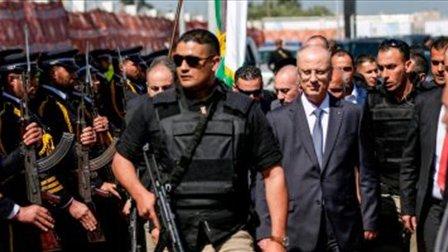 احتجاز مشتبه به في محاولة اغتيال رئيس الوزراء الفلسطيني