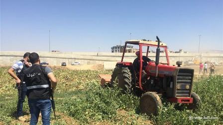 أمن الدولة يتلف مزروعات تروى من مياه الليطاني والصرف الصحي