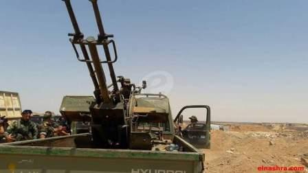 الجيش السوري اسقط خمس طائرات مسيرة مفخخة بريف حماة