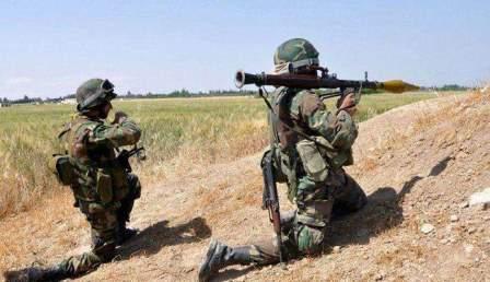الجيش السوري سيطر على نقاط ومخافر حدودية قرب الحدود السورية - الأردنية
