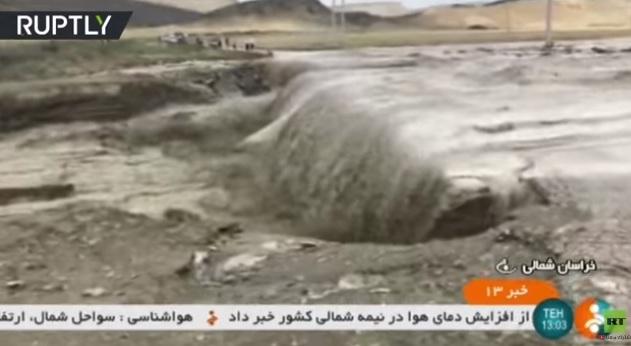 مصرع 11 شخصا جراء فيضانات شمال شرق إيران
