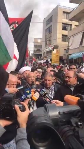 بالفيديو مباشر كلمة خليل الخليل عن التنظيم الشعبي الناصري في التظاهرة أمام السفارة الأميركية